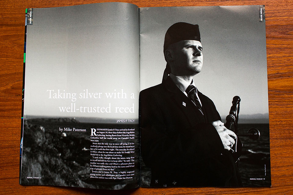 01 Piping Today Magazine Jamie Troy Silver Medal